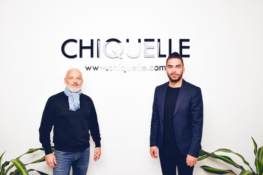 Stefano Crozzoli, Pulsen Retail, och Pouya Boland, Chiquelle