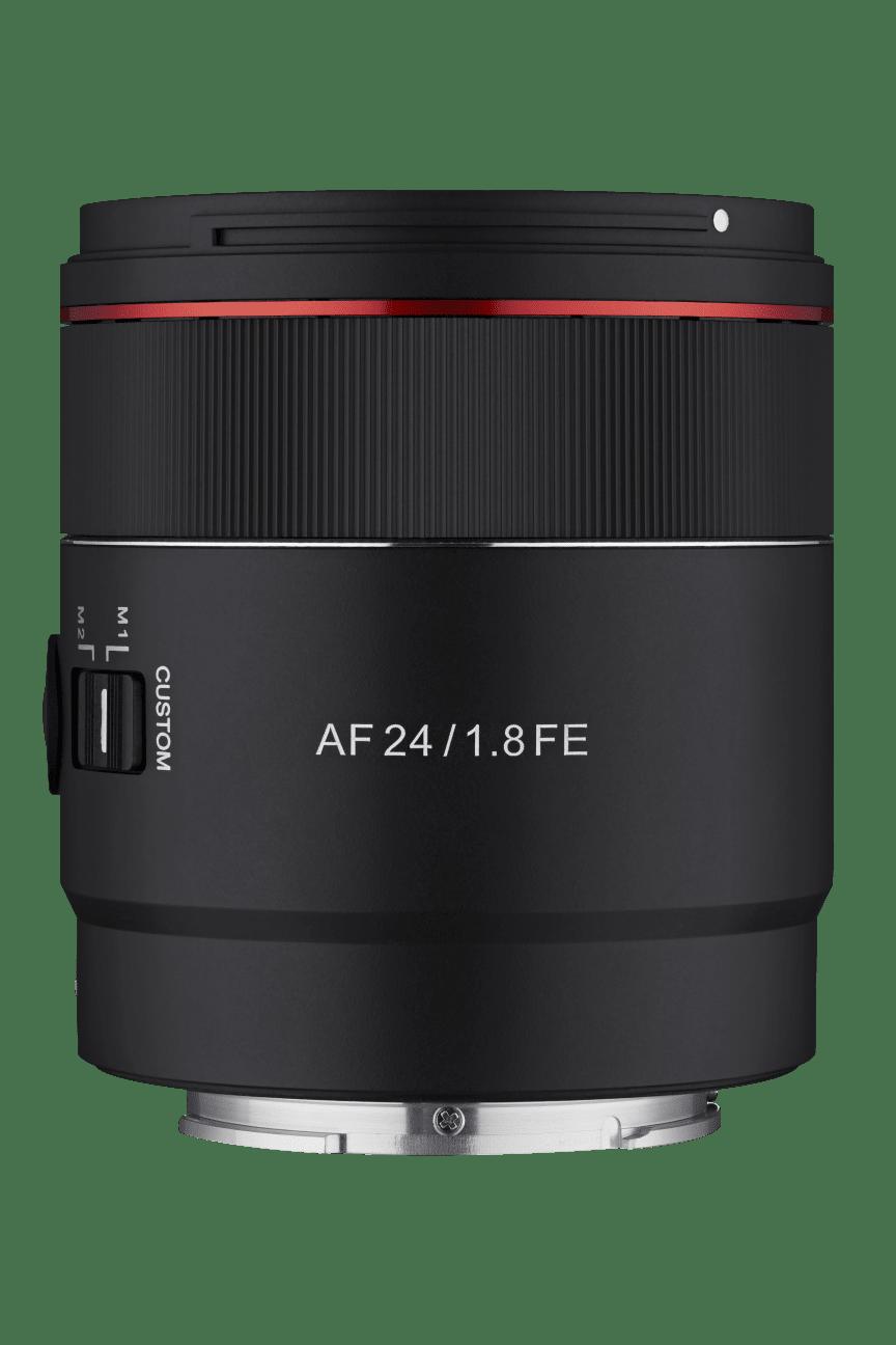 5_Samyang AF 24mm F1.8 FE_Product_No_Hood_Front