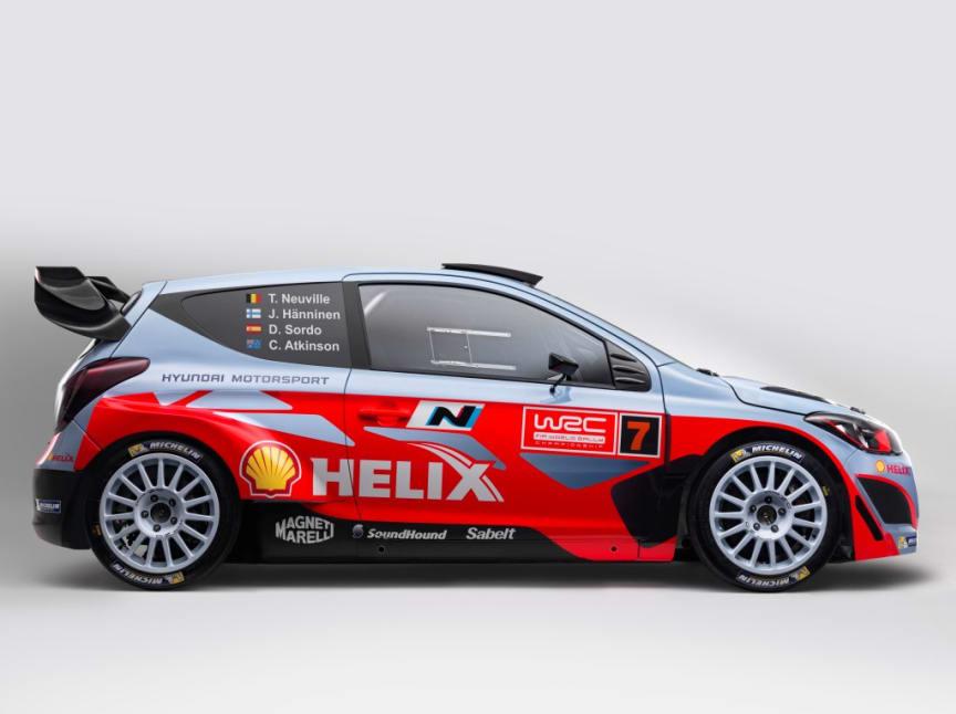 Hyundais nye i20 WRC klar for Rally Monte Carlo