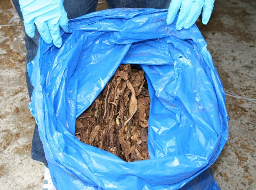 SW 07.14 Seized Tobacco
