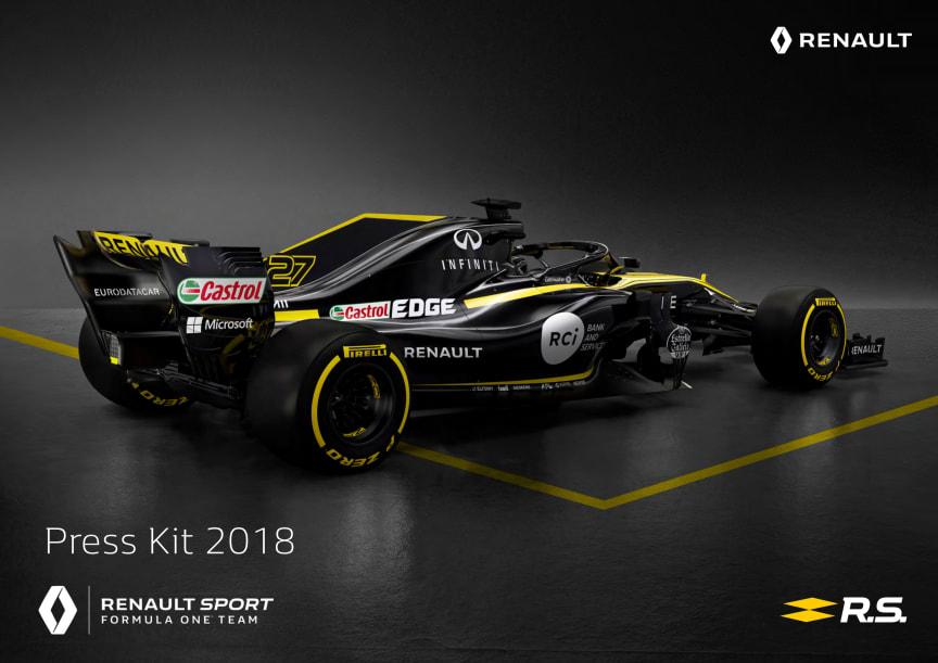 Presentasjon av Renault Sport Formel 1 Team - 2018