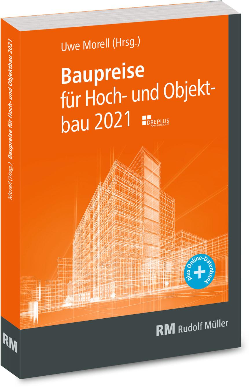 Baupreise für Hochbau und Objektbau 2021 (3D/tif)