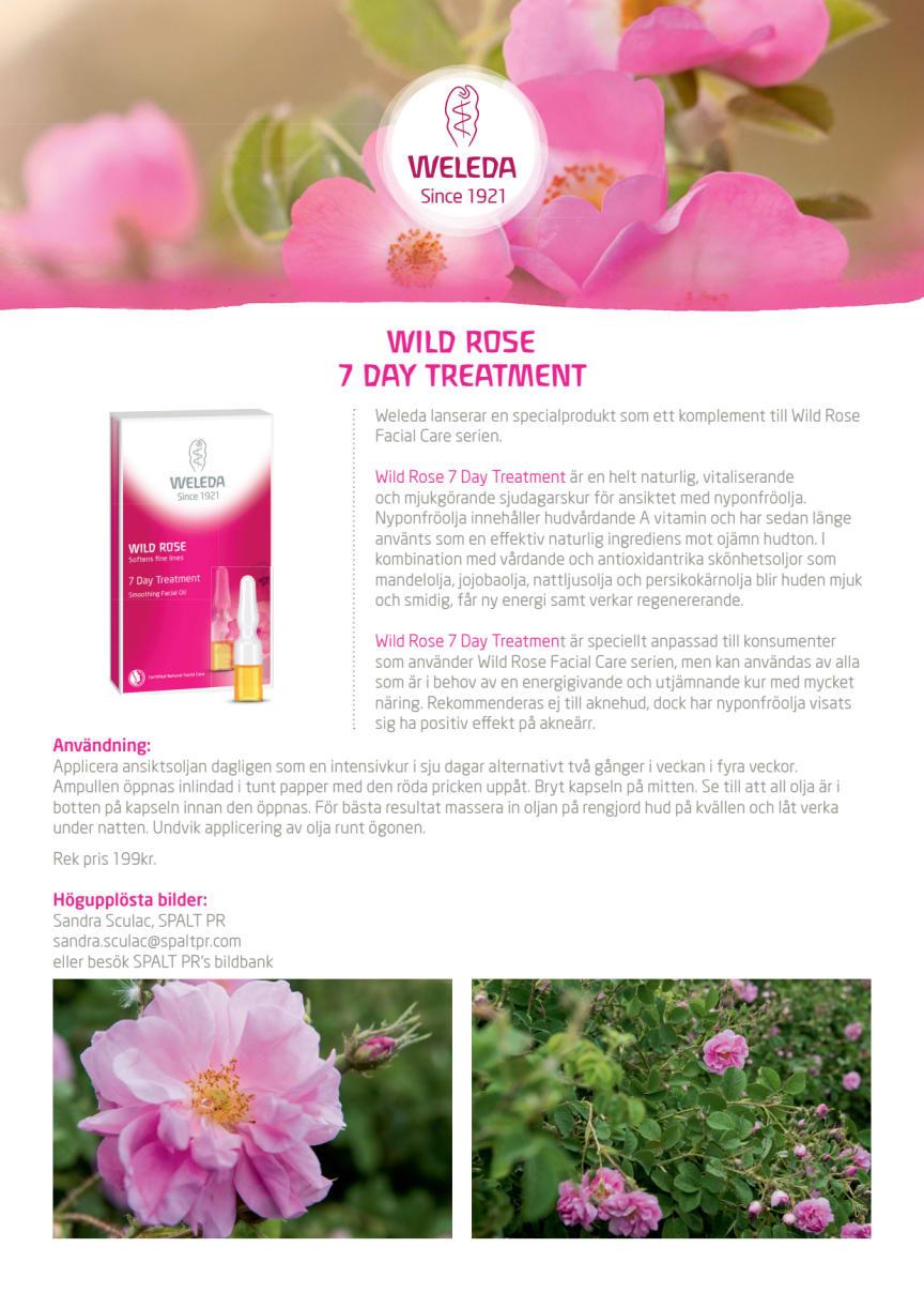 Nyhet! Wild Rose 7 Day Treatment