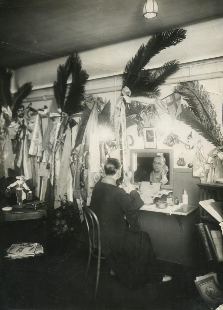 Jean Börlin i sin loge