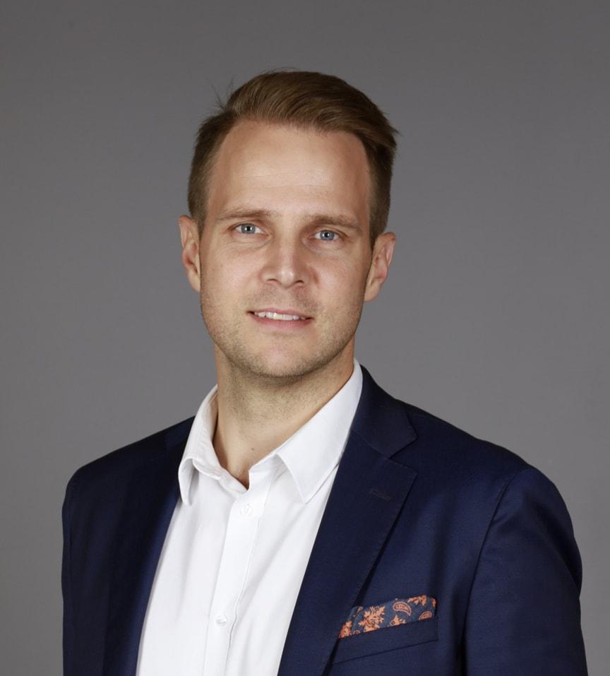 Lars Lundgren, marknadsområdeschef AO Bostad Norr, Riksbyggen