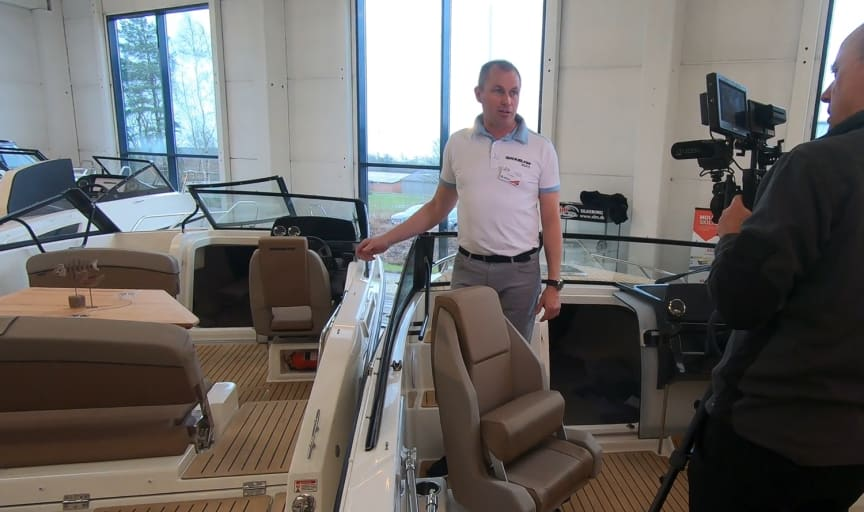 Fotoshoot til Virtuelt Boatshow