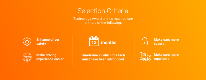 What Car? Technology Award 2020 - selection criteria