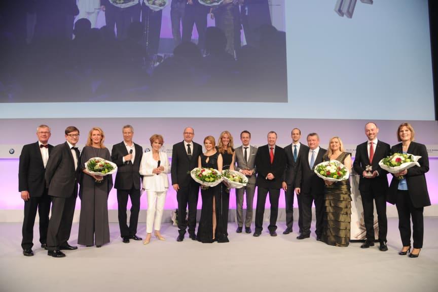 Alle Preisträger und Laudatoren des Felix Burda Award 2016