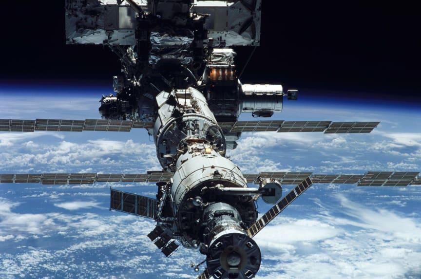 6de plaats: International Space Station (ISS