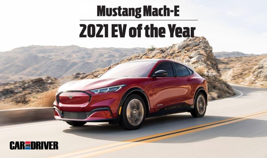 EV of the Year - Mach-E 2021