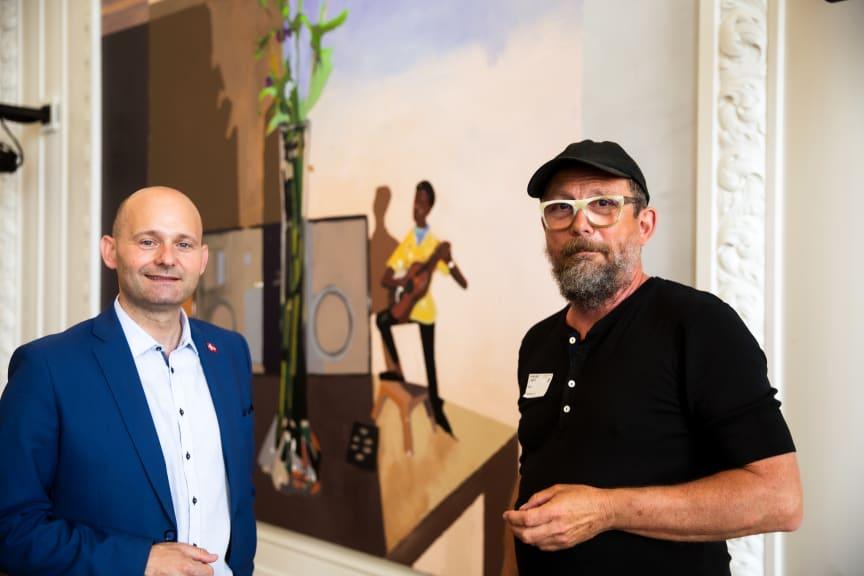 Søren Pape Poulsen og Erik A Frandsen