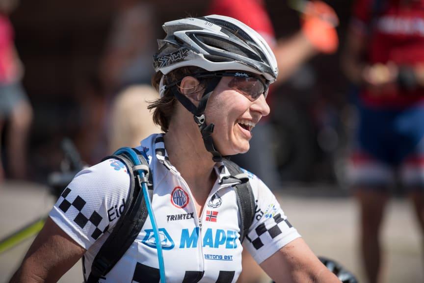 Erna Opseth vant dameklassen under årets Trysilrittet