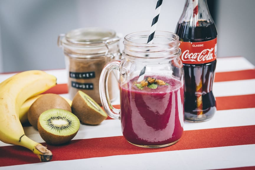 Bugs n' Beet Coke -smoothie