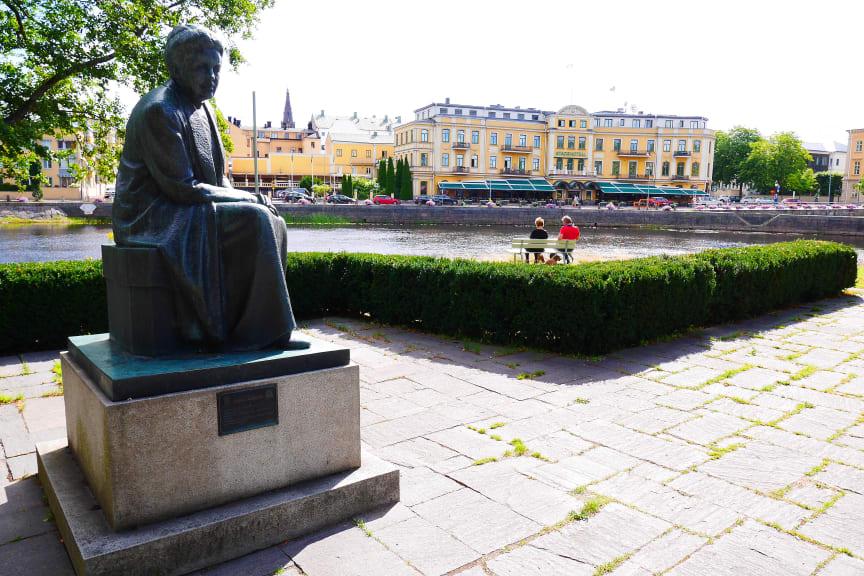 Selma Lagerlöf-statyn