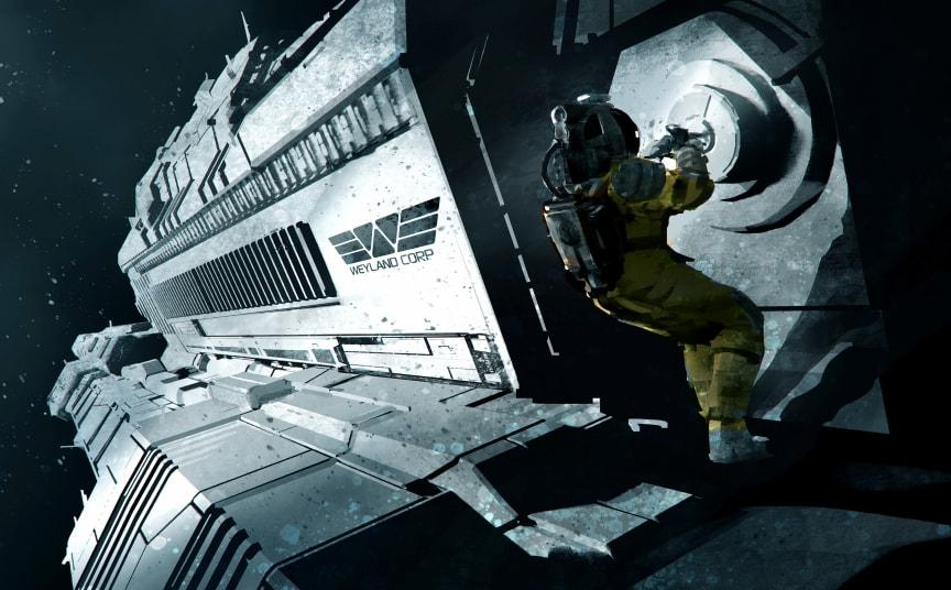 Alien RPG Spacewalk