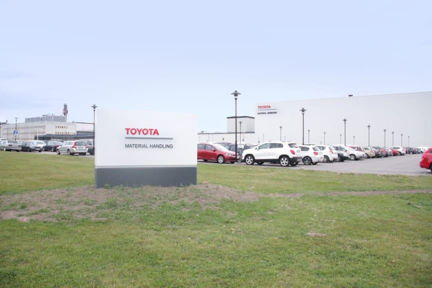 Toyota Material Handling i Mjölby