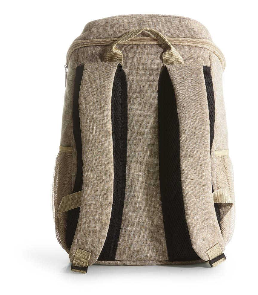 City kylväska ryggsäck 21 L, beige