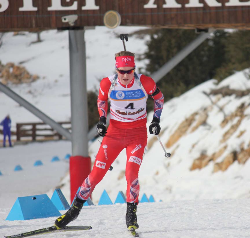 Harald Øygard, sprint ungdom menn, junior-vm 2016