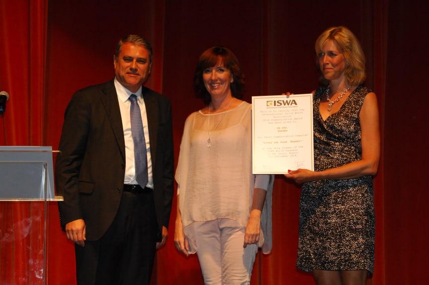 ISWA 2014 prisutdelning