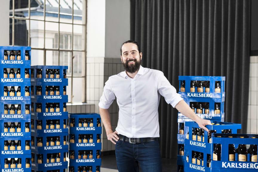Christian Weber, Generalbevollmächtigter der Karlsberg Brauerei KG Weber.