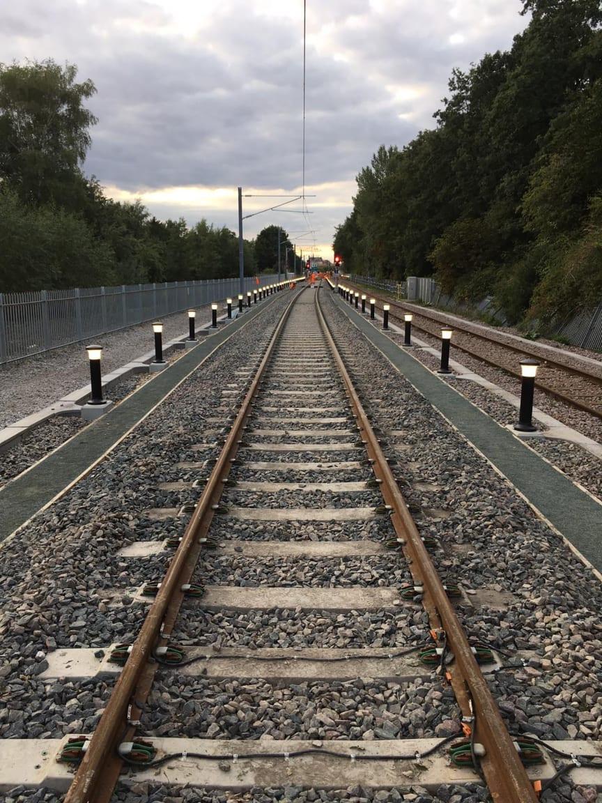 Kings Lynn's new siding 31 August 2020