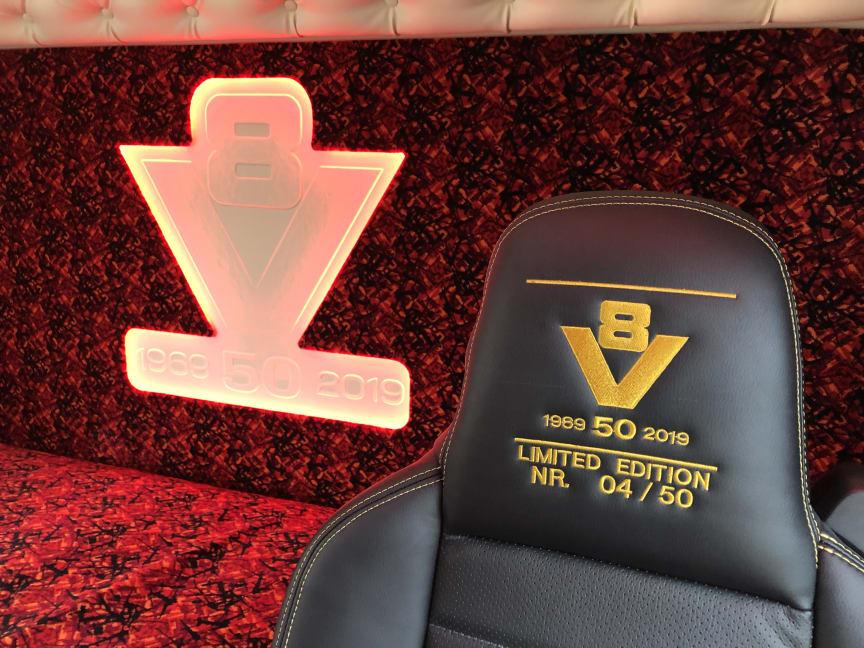 Ekstraordinær V8 Limited Edition til Niels Hansen Transport
