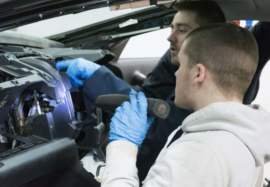 Apprentices in Action - Mechanical, Electrical, Trim