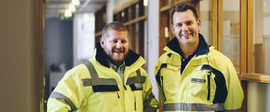 Olof och Mathias ingång