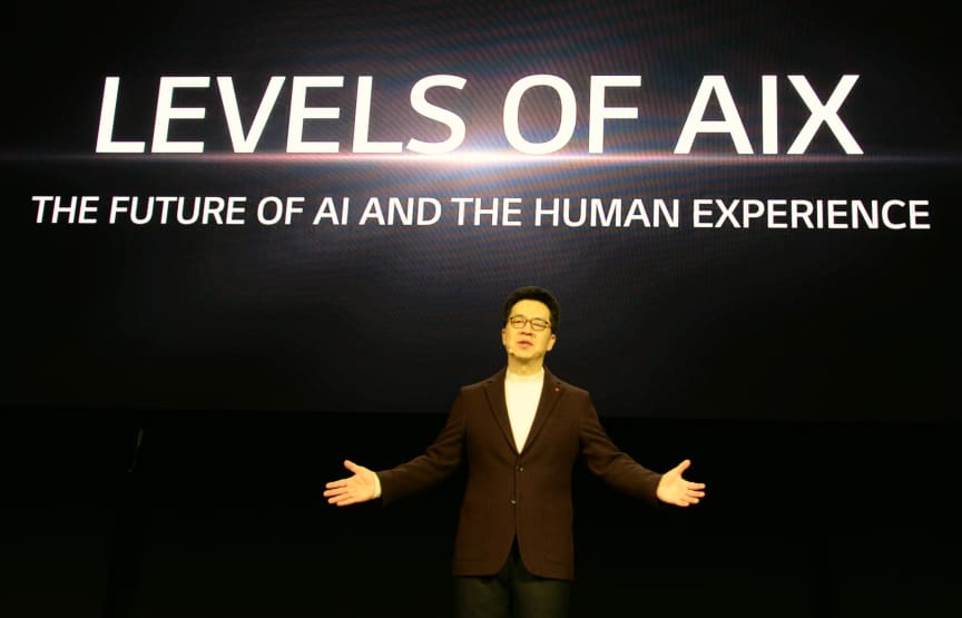 LG CES2020 Press Conference 01