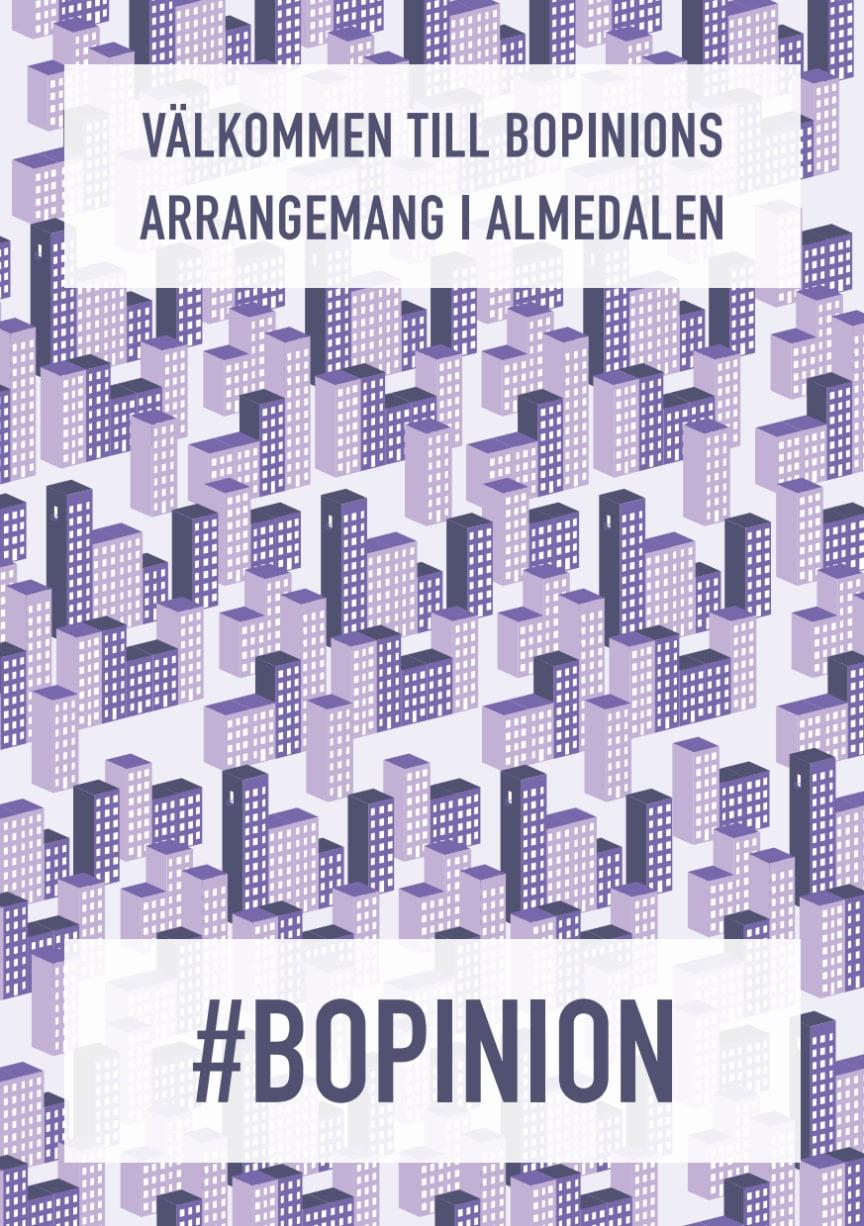 Bopinion i Almedalen - program