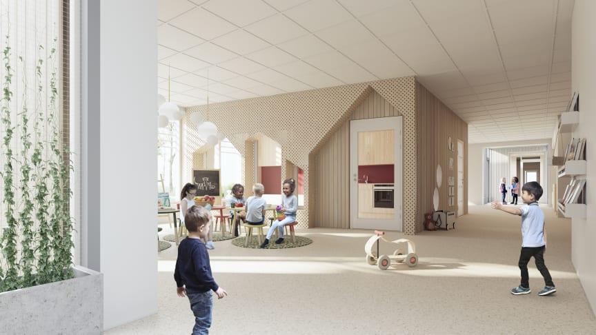 Liljewall Interör konceptförskola