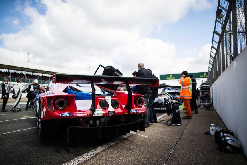 Ford GT klar for den siste store testen før Le Mans.