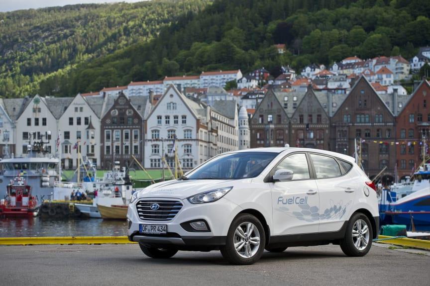 ix35 Fuel Cell i Bergen