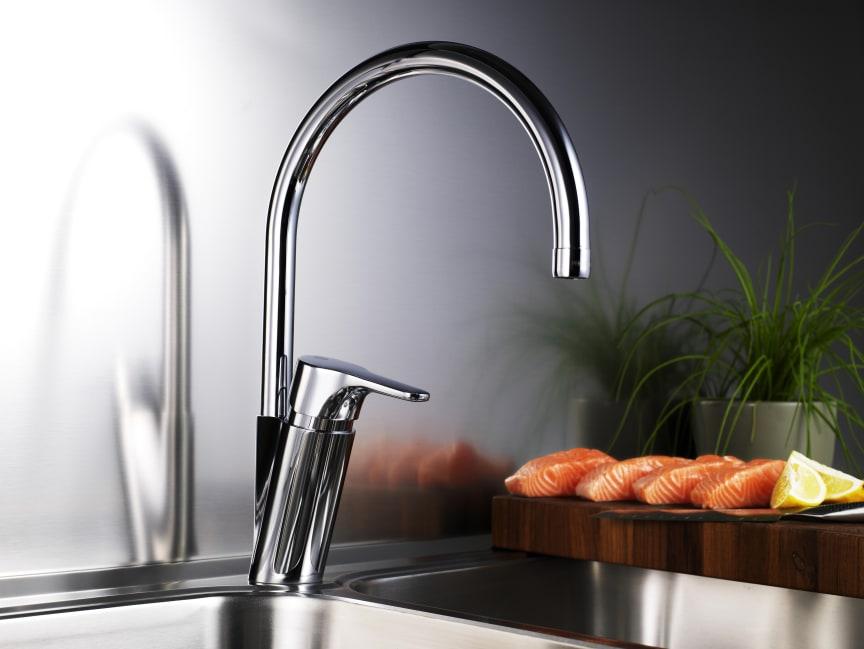 Nautic energisparande blandare - kök
