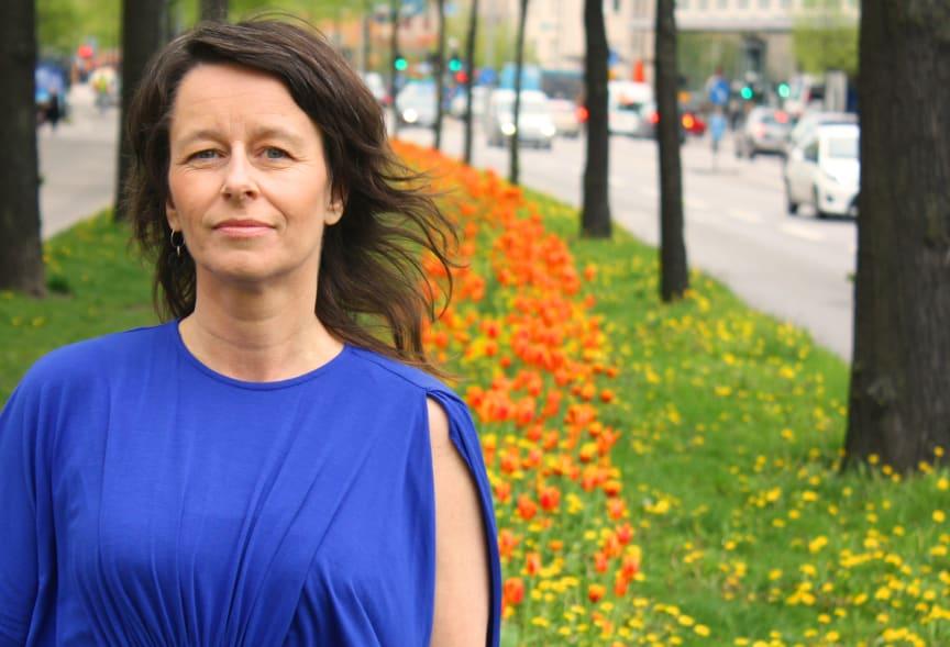 Pop och politik med programledare Anna Charlotta Gunnarson