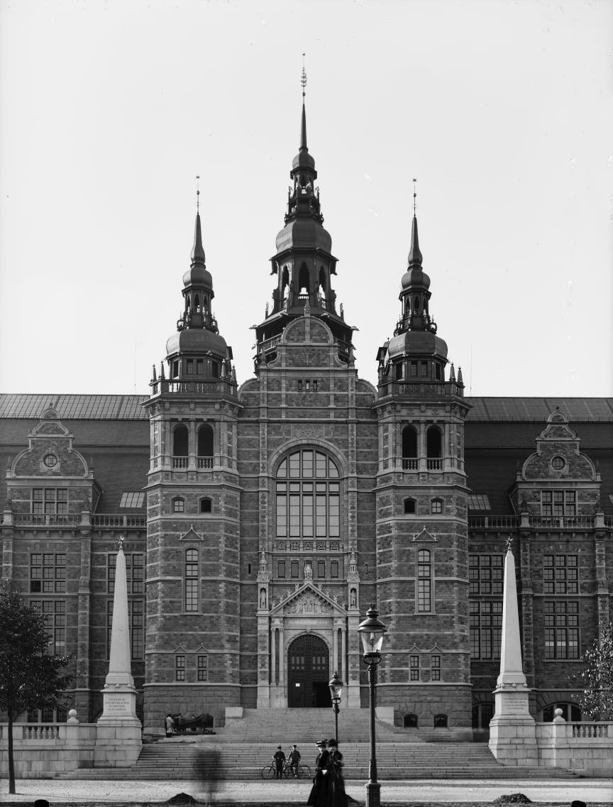 Nordiska museets mittparti 1907