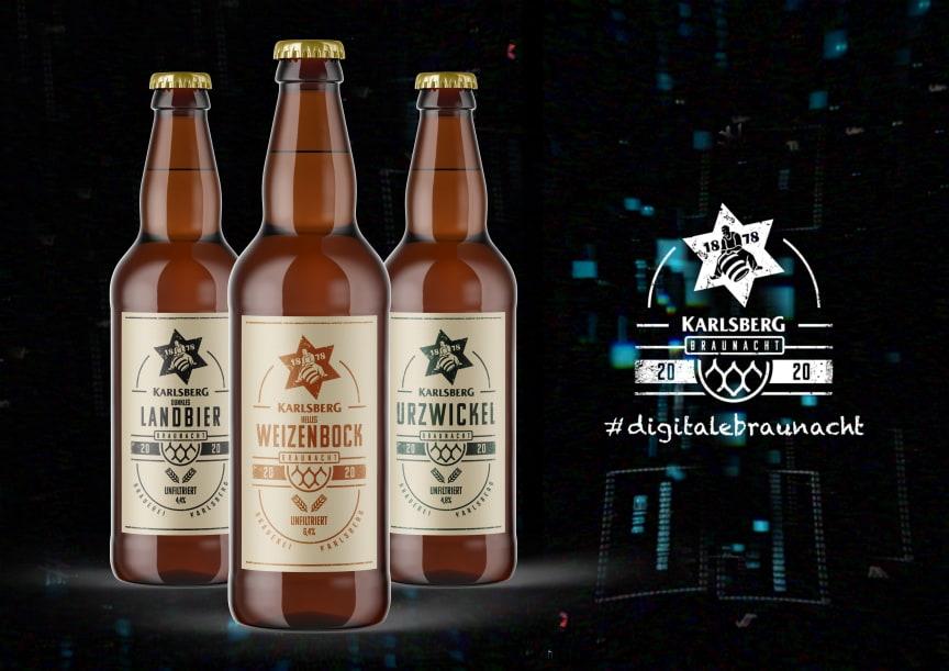 Am 29. Mai findet die erste digitale Braunacht der Karlsberg Brauerei statt.