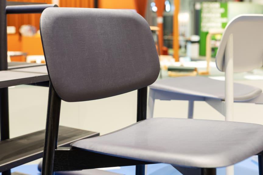 Flexible linoleum-stol