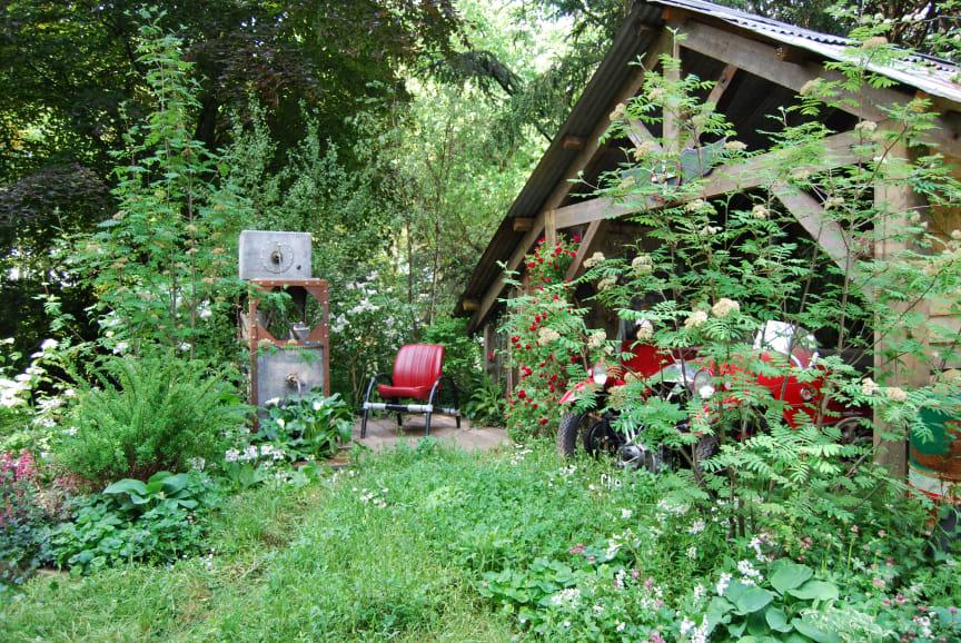 Natur i haven