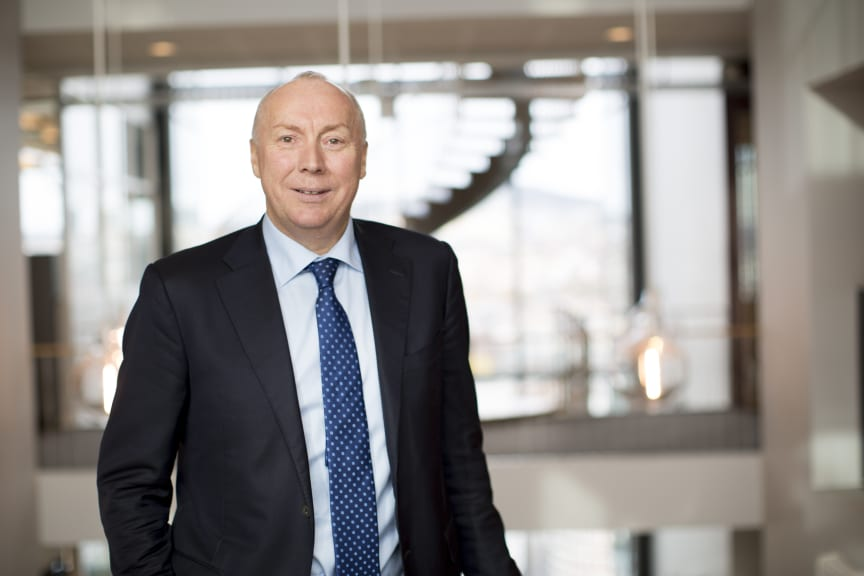 VOKSER. Kjell Rusti fastslår at Sopra Steria leverte gode 2017-resultater