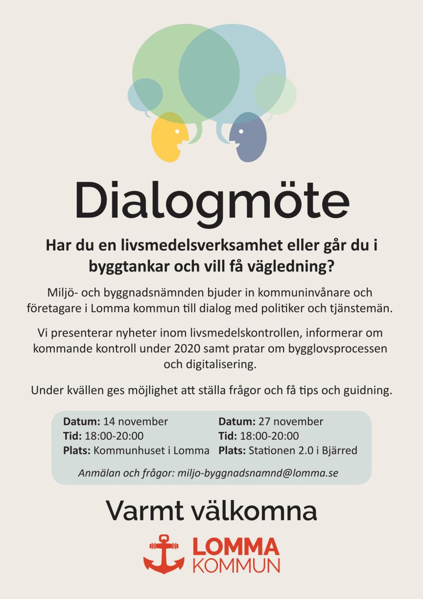 Inbjudan till dialogmöte