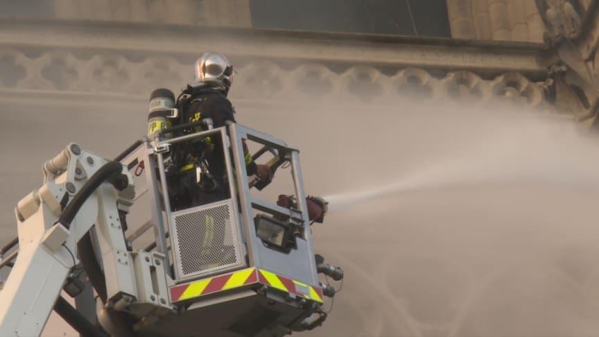 Kampen mod flammerne varede adskillige timer