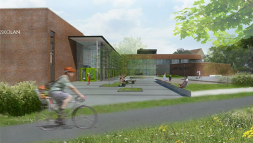 Tågaborgsskolan, bild: Michelsen Arkitekter