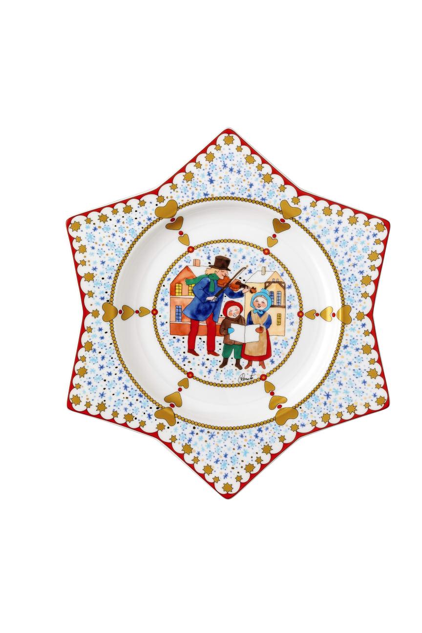 HR_Christmas_market_2019_Star_shaped_Plate_25_cm