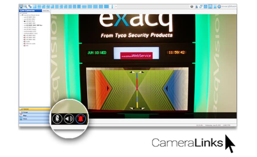 Kameraövervakning från Gate Security - exacqVision VMS 7.0