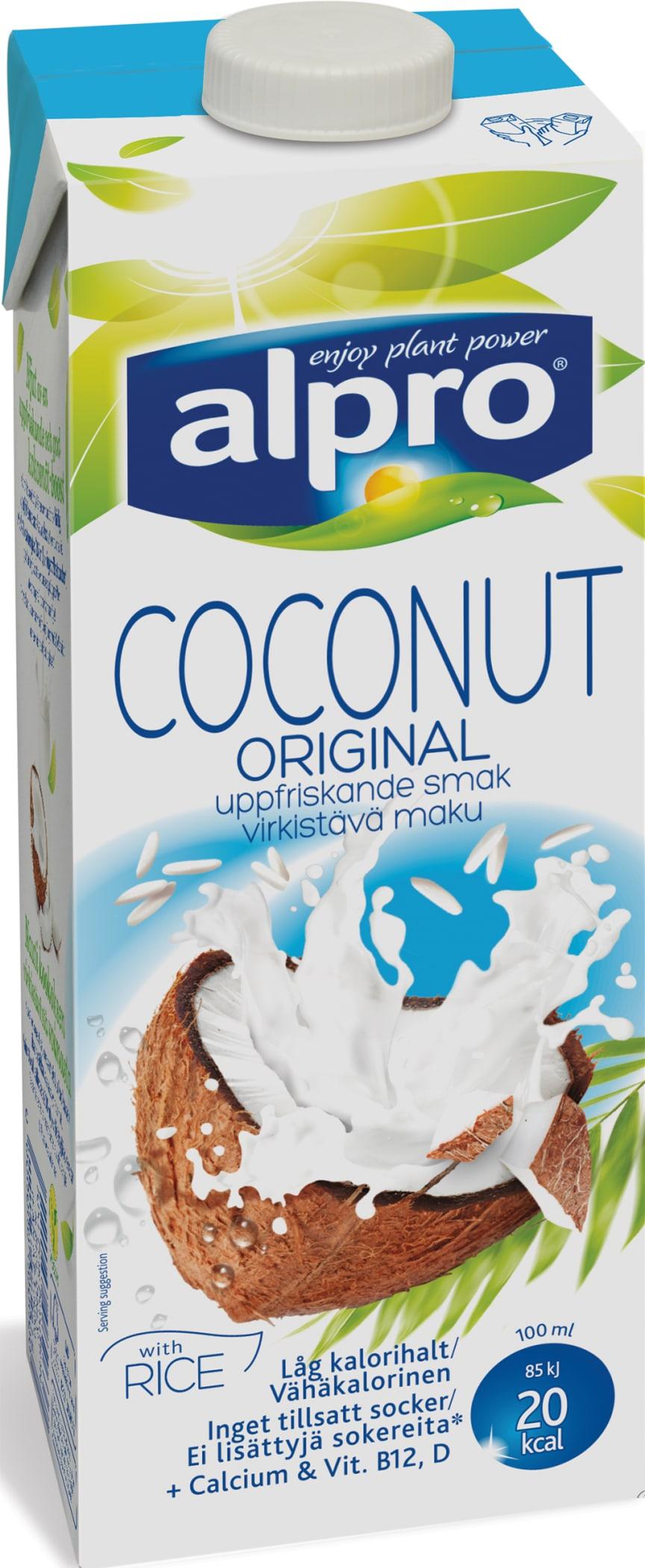 Alpro ris og kokosdrikk
