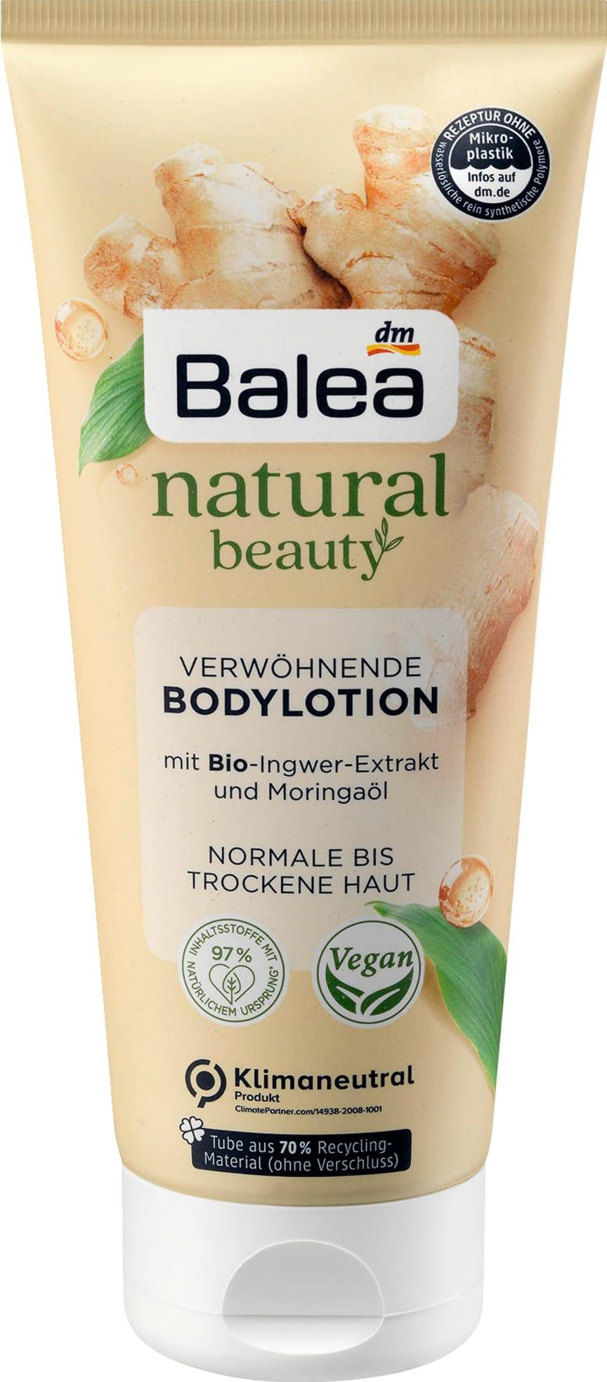 Balea Bodylotion natural beauty