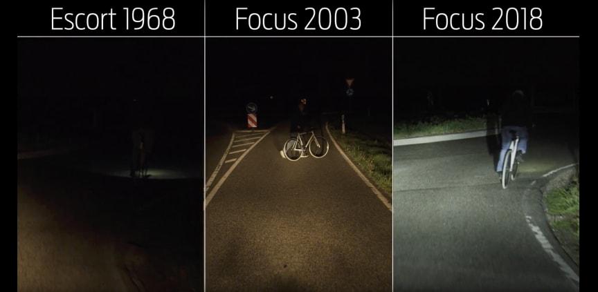 Fords nye lysteknologi