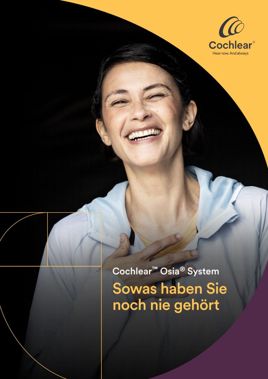 Cochlear™ Osia® System - Sowas haben Sie noch nie gehört