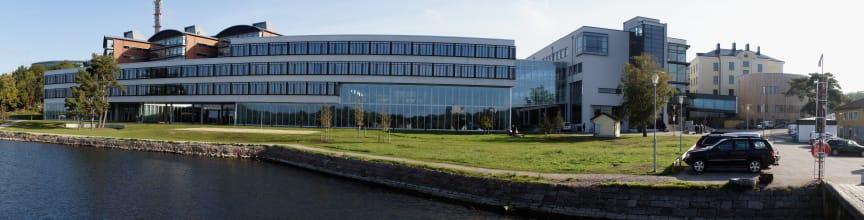 BTH:s huvudcampus i Karlskrona
